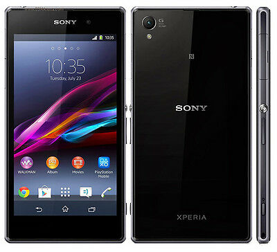 New Original Sony XPERIA Z1 C6903 16GB 20MP GSM 4G LTE Android Smartphone Black