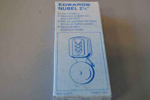 Exposed Gong Edwards 740 Nubel General Purpose Bell 3-6V DC 6-8V AC
