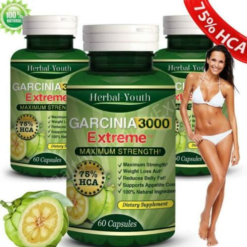 GARCINIA-CAMBOGIA-95-HCA-Low-BMI-Tummy-Fat-Slim-Keto-Diet-Weight-Loss-3-BOTTLES