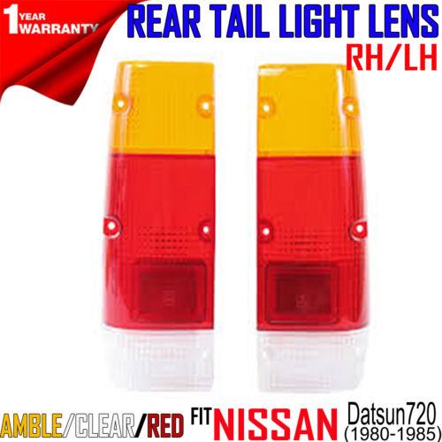 For Nissan Datsun 720 JDM Pickup 1980-85 REAR TAIL LAMP LIGHT LENS Pair RH LH