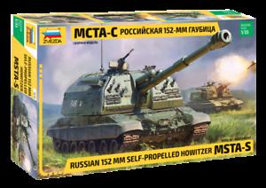 Zvezda 1 35 scale MSTA Self Propelled Howitzer