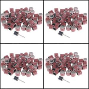 Mischen-Grit-Schleifband-Schleifpapier-Dorn-fuer-1-2-034-Auswahlsatz