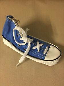 Shoe Trainer Sneaker School Pencil Case Zip Up Office Novelty Funny Gift