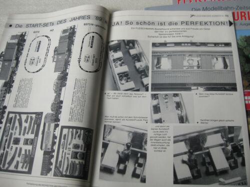 publicité NEUF Fleischmann Coursier 5 numéros 1989 à 1991 revues