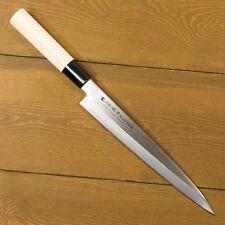 SASIMI 210mm Sushi knife Plain wood handle/Japanese Kitchen Chef Knives 1-546