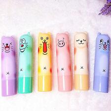 Cute Animal Cartoon Moisturize Makeup Cosmetic Lipstick Lip Balm Women Kid