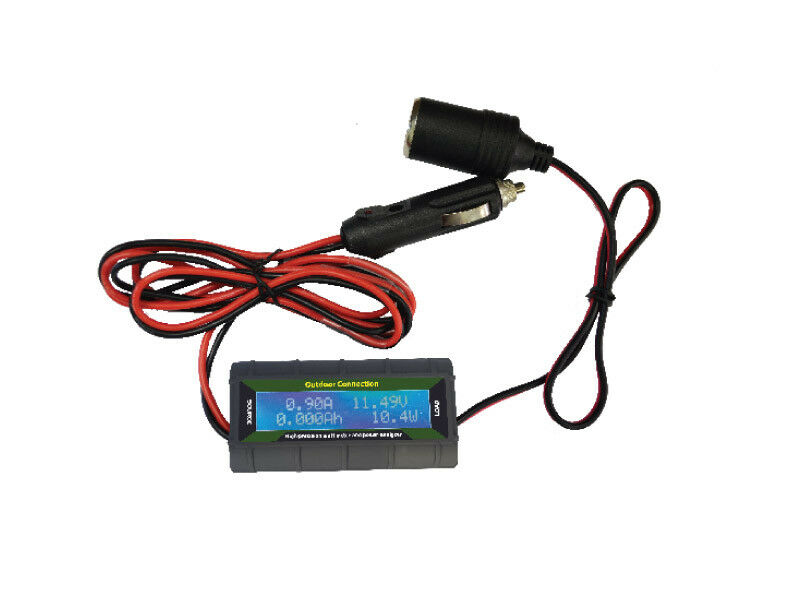 Outdoor Connection 12V Power Usage Meter