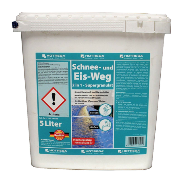HOTREGA Snow And Ice Way 2 in 1 Super Granules 5kg Professional Special Offer!!!