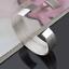 925 Plaqué Argent Bijou Large Bangle Cuff Ouvert Bracelet Bijoux Bracelet