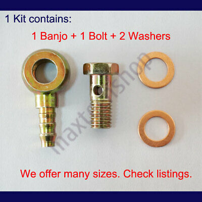 Banjo for 12mm Bolt and 10mm Hose ID Hose Nipple