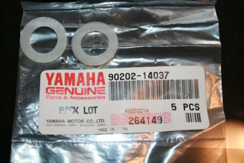 2 nos Yamaha snowmobile front suspension washers 90202-14047  vmax srv phazer