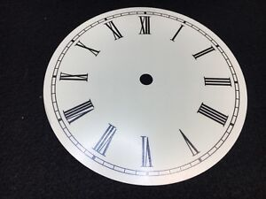 Clock Dial Roman Numerals Metal 7 34 Round With 7 Time Ring Usa - 3-roman-numerals-clocks