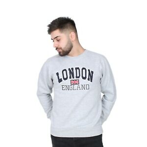 London England Badge Great Britain Union Jack Mens Unisex Men Jumpers Pullover