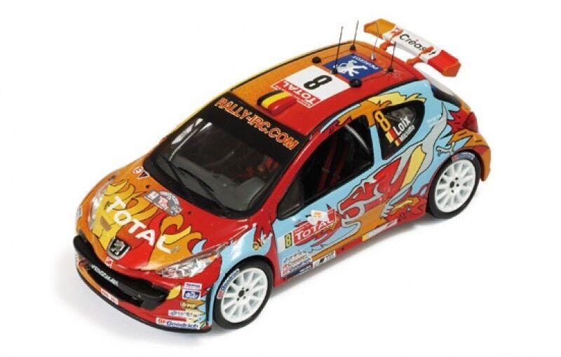 1/43 PEUGEOT 207 S2000 IRC RALLY YPRES BELGIO 2009 F. Loix