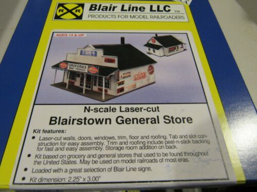 Blair Line N Scale Blairstown General Store Kit  #080   Bob The Train Guy