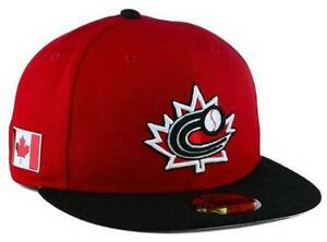 d594022c8 Details about Official 2017 WBC Canada World Baseball Classic New Era  59FIFTY Fitted Hat