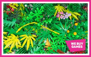 Lego-Mixed-verdure-feuillage-Lot-plantes-arbres-fleurs-Bundle-40-pieces