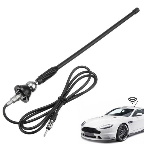 """16/"""" Car Radio AM//FM Amplified Signal Aerial Roof Mount Swivel With Base Antenna"""