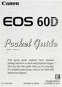Canon eos 60d - Free Pdf Manuals Download