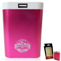 Rechargeable Hand Warmer And Usb Back-up Battery Pack From The Outdoors Way