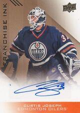 2013-14 Edmonton Oilers Collection, Curtis Joseph, Franchise Ink, Auto.