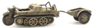 HO-Roco-Minitanks-6th-Panzer-Army-WM-Kettenkrad-A730-387-251-Hand-Painted
