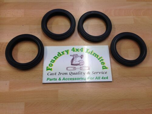 Land Rover Series 3 Front /& Rear Hub Oil Seal Set From 1980  RTC3511K