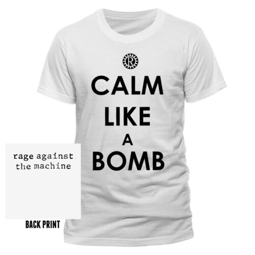 Rage Against the Machine Logo Unisex T-Shirt Offizielles Lizenzprodukt