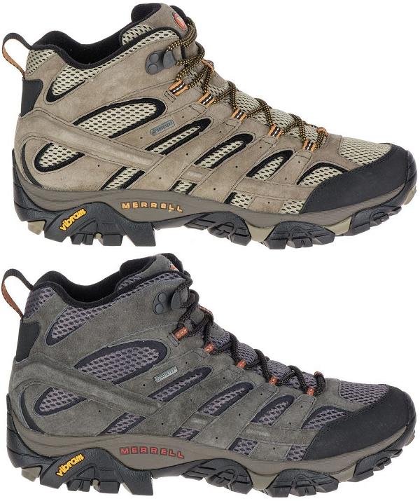 MERRELL Moab 2 LTR Mid Gore-Tex Wanderstiefel Wanderschuhe Stiefel Herren neuheit  | Um Sowohl Die Qualität Der Zähigkeit Und Härte