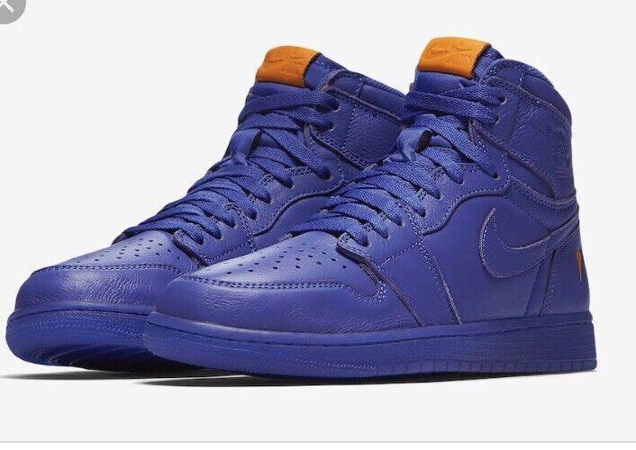 Nike Air Jordan Retro 1 High OG G8RD Gatorade Grape Rush Violet AJ5997-555 8-15 best-selling model of the brand