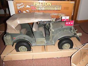 ultimate soldier patton command car wc57 dodge us army jeep gi joe 1 6 21st cent ebay. Black Bedroom Furniture Sets. Home Design Ideas
