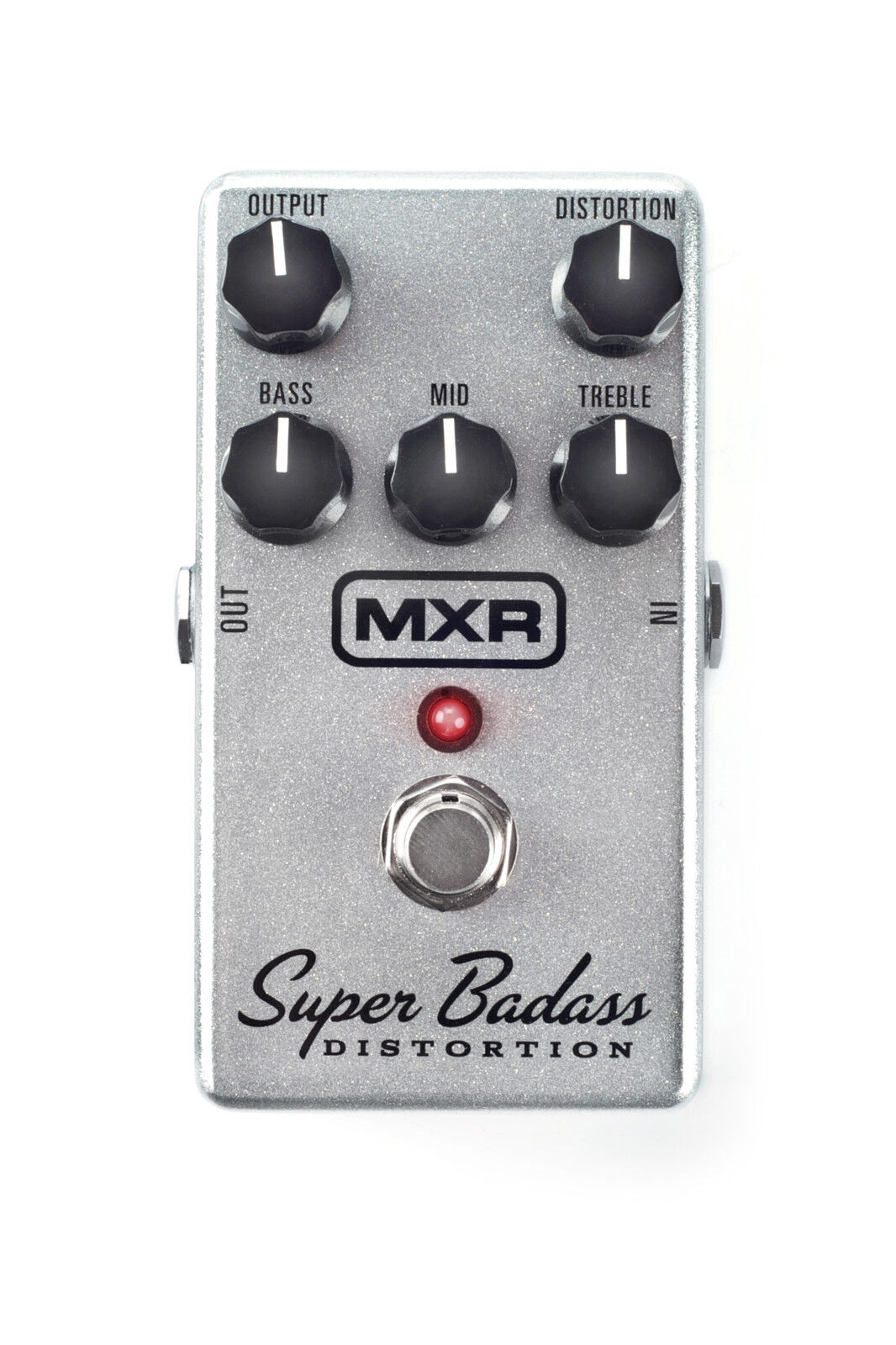 Used MXR M75 Super Badass Distortion Overdrive Guitar Effects Effects Effects Pedal 581309