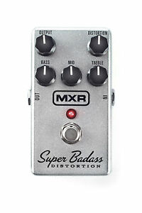 Used MXR M75 Super Badass Distortion Overdrive Guitar Effects Pedal