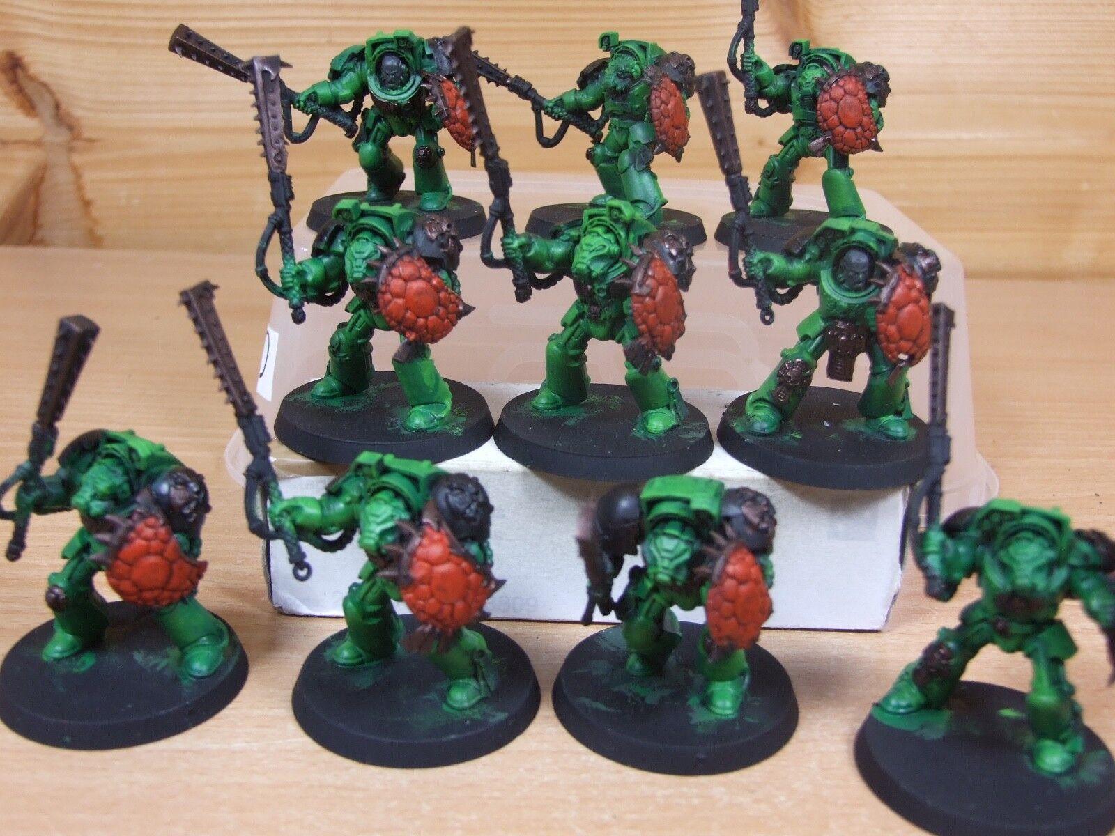 10 convertis convertis convertis Salamandre Assault Terminators peint (220) 089f61
