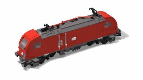 PDF-Anleitung Siemens ES64U2 BR 182 MOC Unikat Custom zum Bau aus LEGO©-Steinen