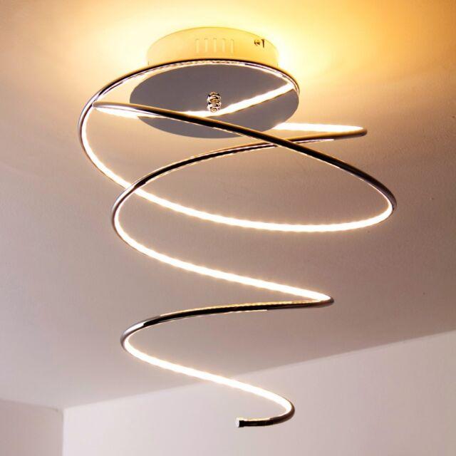 Plafonnier Design LED Lustre Lampe suspension moderne Éclairage de salon 129185