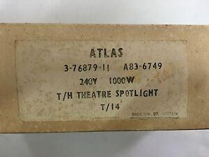 Atlas Theatre spotlight T/14 240V 1000W (Lot of 2pcs) (FREE SHIPPING)