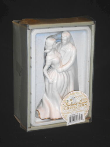 Wedding Cake Topper Old New Stock Ceramic Couple The Victoria Lynn Collection