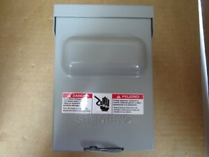 Siemens-Enclosed-Pullout-Non-Fused-Switch-WN2060-1PH-1-PH-2W-240-VAC-60-AMP-New
