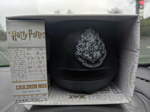 Paladone Black Hogwarts Harry Potter Cauldron Mug Brand New In Box