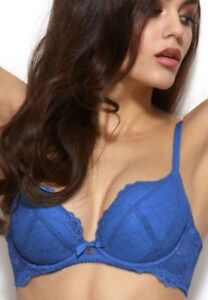 e24f95025a Image is loading Gossard-Superboost-Lace-Padded-Plunge-Bra-7711-30-
