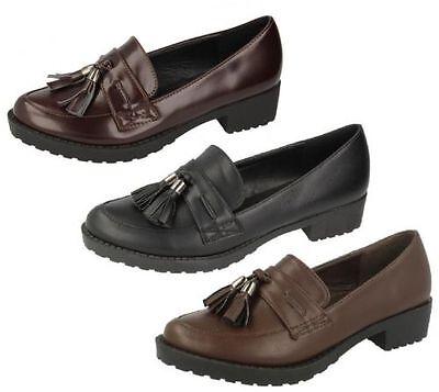 **SALE** Girls Spot On Slip On Shoes UK Sizes 10-3 H3036
