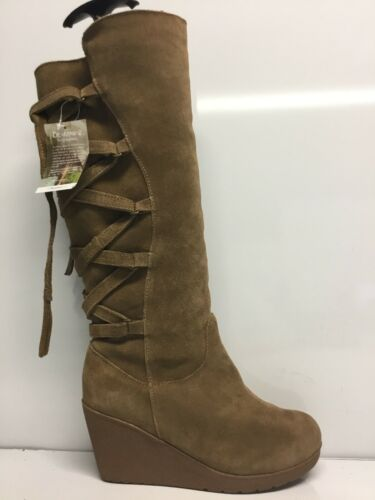 Bearpaw Womens Britney Hickory Fashion Boots Size