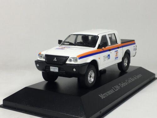 IXO 1:43 Mitsubishi L200 Defesa civile Rio de Janeiro Diecast Car Model  | eBay
