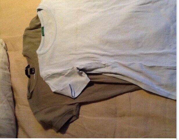 T-shirt, 9 t-shirt for 75 kr, Benetton mfl