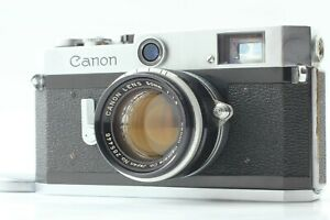 NEAR-MINT-Canon-P-35mm-Rangefinder-Film-Camera-50mm-f-1-8-Lens-aus-Japan