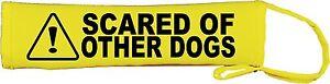 Avvertenza paura di altri CANI COLLARE PER CANE SLIP COVER 085  </span>
