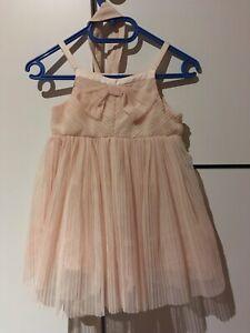 Mädchen Kleid Größe 86 H&M mit Stirnband Glitzer top ...
