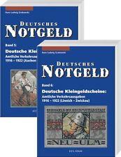 Deutsches Notgeld Band 5&6 Kleingeldscheine 1916-1922 Germany noodgeld Allemagne