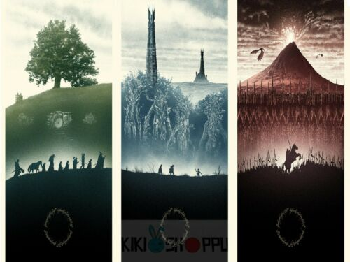 Poster A3 El Señor De Los Anillos The Lord Of The Rings Pelicula Film Cartel 06